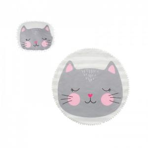 Плед  с подушкой Кошечка (2 предмета) Крошка Я