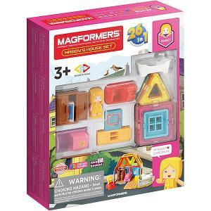 Магнитный конструктор  Maggys House Set, 33 элемента MAGFORMERS