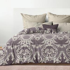 Комплект постельного белья  Баронесса, евро Романтика. Цвет: разноцветный