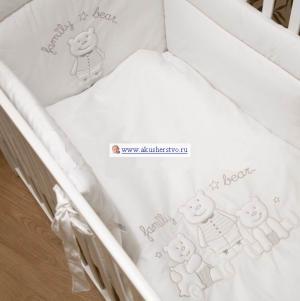 Комплект в кроватку  Family (5 предметов) Bambolina