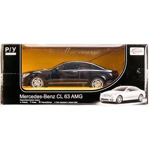 Машина радиоуправляемая  Mercedes CL63 AMG, со светом Rastar. Цвет: разноцветный