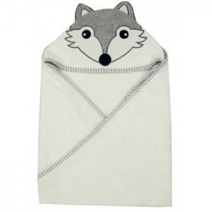 Полотенце с капюшоном Волк 100х100 см Forest