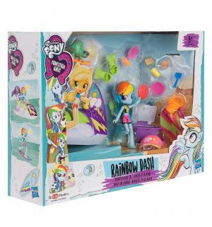 Игровой набор  Rainbow Dash Sporty Beach Set 12 см Equestria Girls