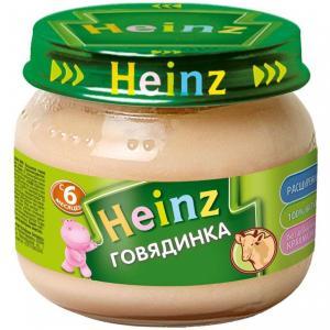 Пюре  говядина с 6 месяцев, 80 г Heinz