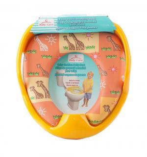 Сиденье для унитаза  РМ2399, цвет: желтый Baby Care