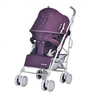 Коляска-трость  ATV Е-1266, цвет: purple Everflo