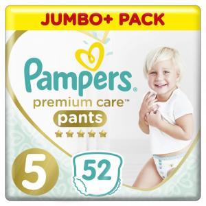 Подгузники-трусики Premium Care Junior р.5 (12-17 кг.) 52 шт. Pampers