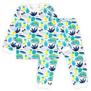 Пижама футболка/брюки  Хамелеон Веселый малыш
