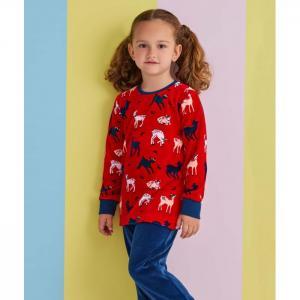 Комплект для девочки RP1385 (лонгслив, брюки) Roly Poly