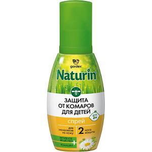 Спрей от комаров  Naturin для детей, 75 мл Gardex