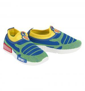 Кроссовки , цвет: голубой/зеленый Tom&Miki