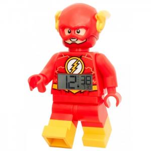 Часы  Будильник DC Comics Super Heroes минифигура Flash Lego The