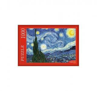 Пазл  Ван Гог. Звёздная Ночь 1000 шт. Рыжий кот