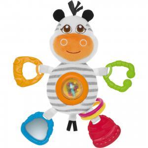 Мягкая игрушка-погремушка Зебра, Chicco