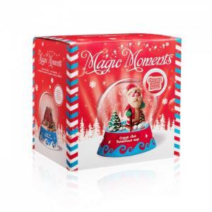 Большой набор Создай Волшебный шар Дед Мороз Magic Moments