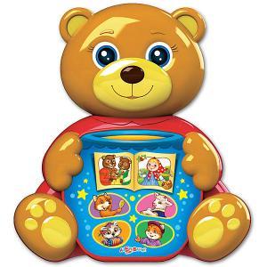 Музыкальная игрушка  Любимая сказочка Мишка косолапый Азбукварик. Цвет: разноцветный