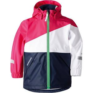 Демисезонная куртка Didriksons Gull. Цвет: фуксия