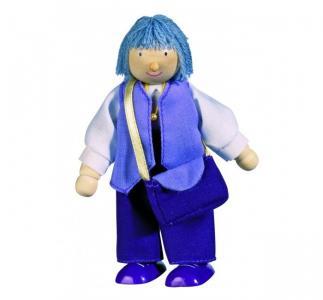 Кукла деревянная Бабушка Goki