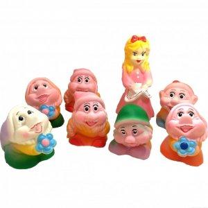 Игрушки Белоснежка и семь гномов (8 персонажей) Кудесники