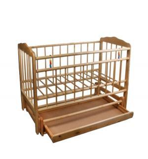 Кровать-качалка  Женечка-6, цвет: светлый ИП Смирнов