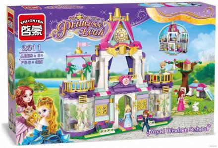 Конструктор  Замок принцессы с фигурками (628 деталей) Enlighten Brick