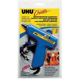 Клеевой пистолет  Creativ, низкотемпературный UHU. Цвет: разноцветный