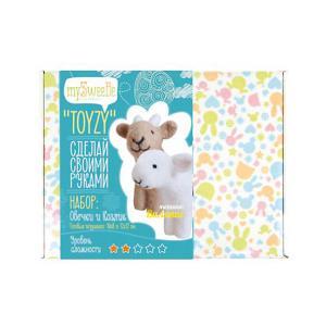 Набор для валяния Toyzy  Овечка и козлик. Цвет: разноцветный