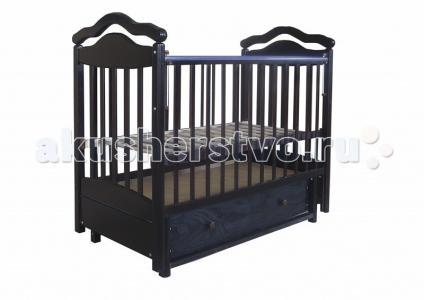 Детская кроватка  8 маятник поперечный Лаура