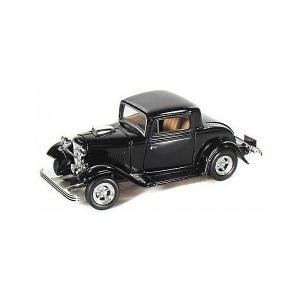 Коллекционная машинка  Ford Coupe 1932, 1:43, черная Autotime. Цвет: черный