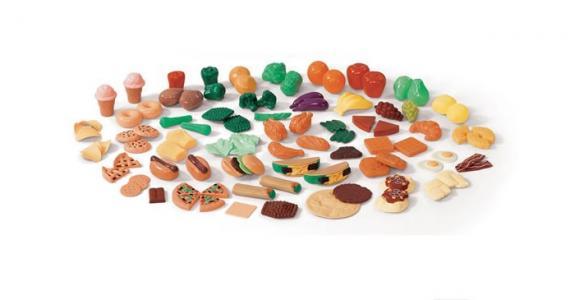 Игрушечные продукты питания  (101 предмет) Step 2