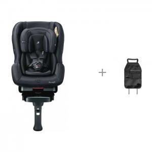Автокресло  First 7 Plus Isofix Platinum black и чехол для автомобильного сиденья Esspero Keeping Daiichi