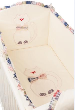 Комплект в кроватку  Toy Kitty 120х60 (6 предметов) Makkaroni Kids