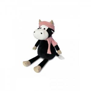 Мягкая игрушка  Коровка Маша в шарфе и шапке 23 см Maxitoys