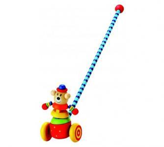 Каталка-игрушка  Медвежонок Bino