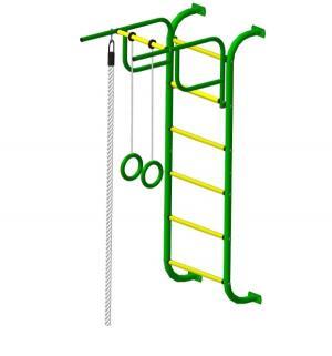 Спортивный комплекс  7, цвет:зеленый/желтый Пионер