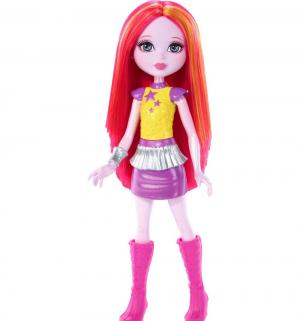 Кукла  Космическое приключение в желто-фиолетовой одежде 16 см Barbie