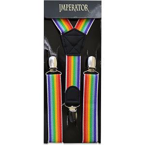 Подтяжки Imperator. Цвет: разноцветный