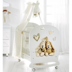 Детская кроватка  Cremino качалка Baby Expert