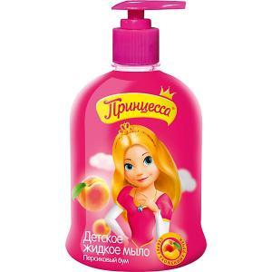 Жидкое мыло  Персиковый Бум, 490 мл Принцесса