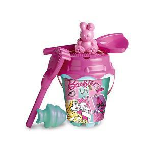 Набор игрушек для песочницы  Барби Unice. Цвет: розовый