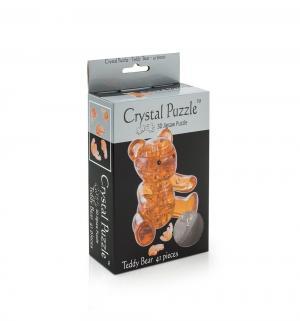 Головоломка 3D  Мишка янтарный цвет: желтый Crystal Puzzle