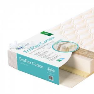 Матрас Plitex EcoFlex Cotton 119х60х12 Плитекс