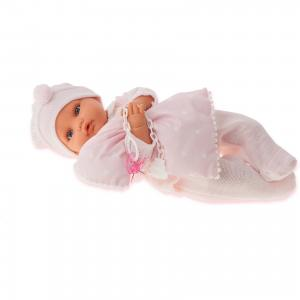 Кукла Марита в розовом, плач., 42 см, Munecas Antonio Juan