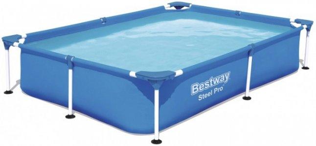 Каркасный бассейн прямоугольный Bestway