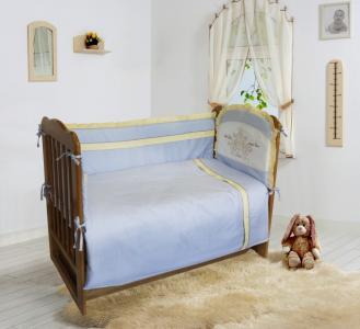 Комплект в кроватку  Лунная прогулка (6 предметов) 20902 Soni Kids