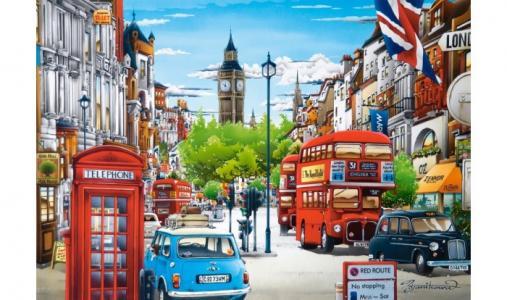 Пазлы Лондон (1500 деталей) Castorland