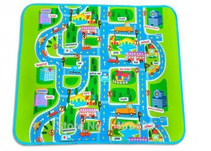 Игровой коврик  Город Mambobaby