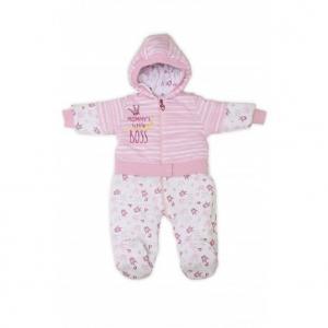 Комбинезон  Little Boss, цвет: розовый Babyglory