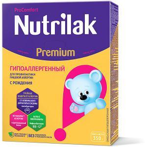 Молочная смесь  Premium Гипоаллергенный, с 0 мес, 350 г Nutrilak