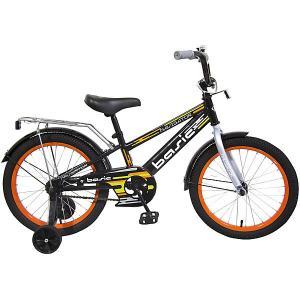 Двухколесный велосипед  Basic, 18 дюймов, оранжевый Navigator. Цвет: разноцветный